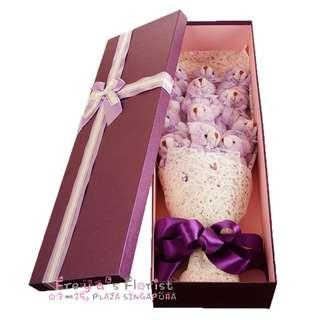 39 Teddy Bear Soft Toy Flower Bouquet Valentine Day
