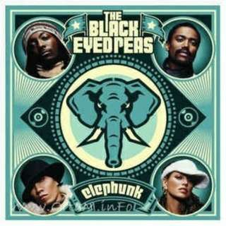 arthcd BLACK EYED PEA Elephunk CD + Bonus AVCD