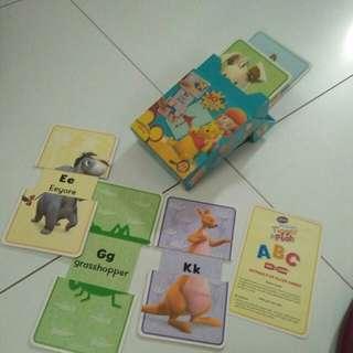 Disney flash cards