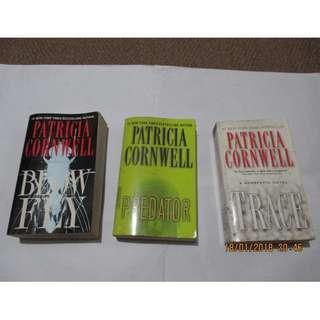 Patricia Cornwell, Paperback, Preloved Book/Books, Softbound