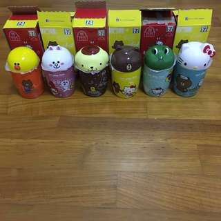 Line Friends X Sanrio Characters