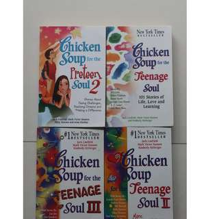 English books (Chicken Soup for the Teenage Soul)