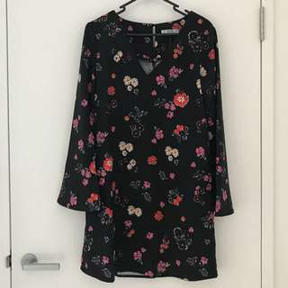Cotton On Floral Dress (Size XS)