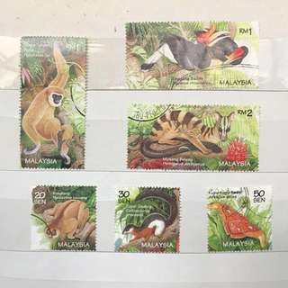 [NEW] Malaysia Stamps: Wildlife (1996)