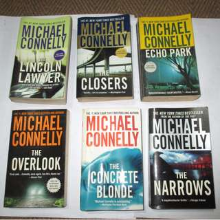 Michael Connelly, Paperbacks, Preloved Book/Books, Softbound