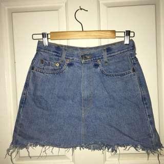 Levi's Vintage Denim Skirt 8