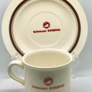 Vintage Stabilo Kopitiam Cup & Saucer