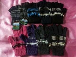 二月優惠買2送1包郵㊣女裝成人針織手套(正常成人女士SlZE)$25/件(原價$28/件)