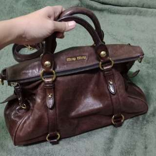 Rush Sale! Authentic Miu miu Bow Bag