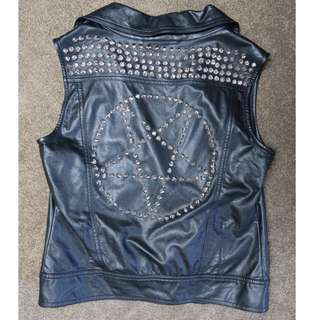 Black Friday Punk studded vest