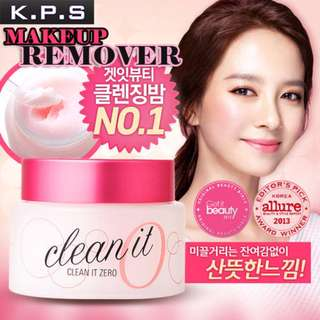 【K.P.S】Korea Banila co Clean It Zero Radiance Make up Remover 100 ml / 180ml 芭妮兰卸妆膏