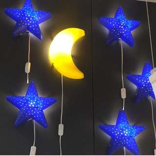 IKEA STAR WALL LAMP