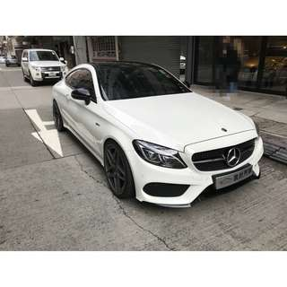2017 MERCEDES-BENZ C43 AMG COUPE