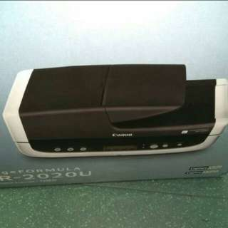 CANON SCANNER Single pass dual scan