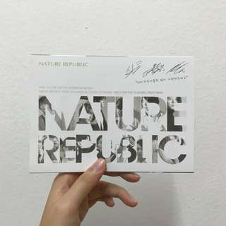 [NEW] JYJ Postcard; Nature Republic