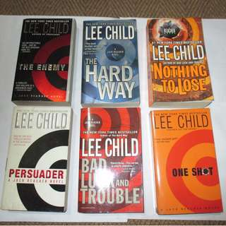 Lee Childs, Paperbacks, Pre-loved Book/Books, Softbound