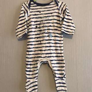 Mothercare sleepsuits size 0-3m