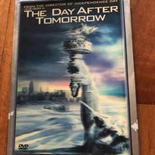 The Day After Tommorrow movie dvd
