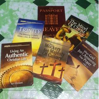 Bundle Inspiring Books / Christian Books / Spiritual books