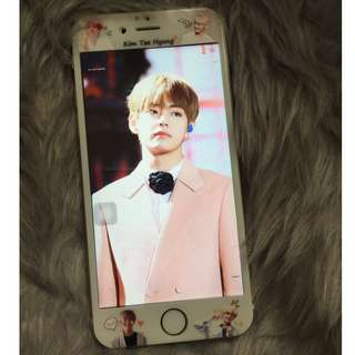 [ON-HAND] BTS Taehyung iPhone 6s Tempered Glass