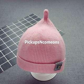 👼🏻嬰幼兒冷帽 👒 --加絨加厚帽🐰--