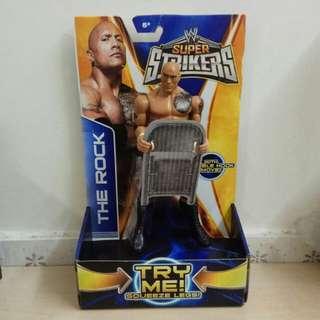 7吋 MATTEL WWE Figure The ROCK Dwayne Johnson 美國職業摔角手