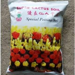 Super Cactus Soil  (1.5 Ltr/Bag)