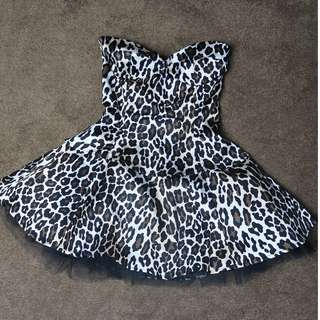 Wheels & Dollbaby GIGI dress Leopard