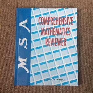 MSA Comprehensive Mathematics Reviewer