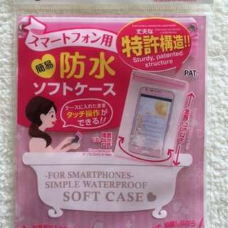 DAISO Soft Case-For Smartphones-Simple Waterproof