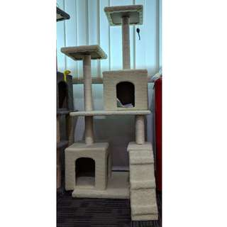 Cat House - 1.5M Heights Double Box