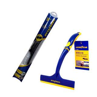 "Good Year GDYESC00045 Wiper 18"" with GoodYear GY-2817 Window Squeegee"