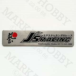 Emblem Honda JS Racing