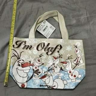 Disney Olaf 手提帆布包