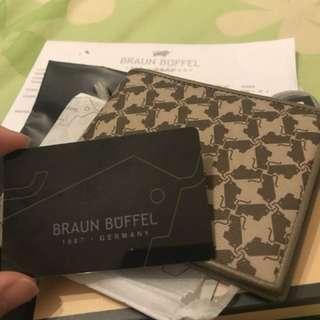 Original Braun Buffel leather wallet