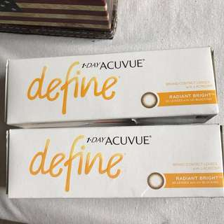 Acuvue Define (Radiant Bright) - Daily