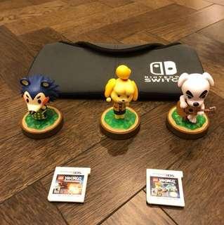 Ninjago 3DS Games, Amiibo and Nintendo Switch case