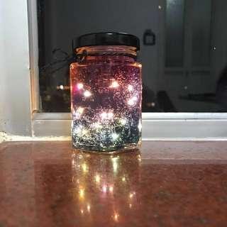 星空瓶 閃爍燈 情人節小禮物