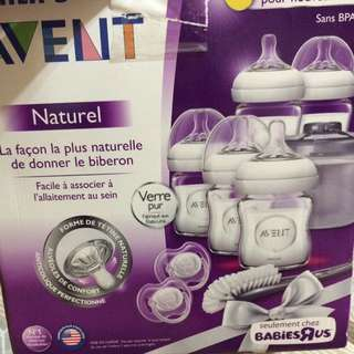 Avent orthodontic pacifiers