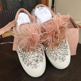 Miu miu shoes size 38.5
