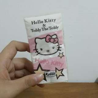 🚚 Hello Kitty 印花紙手帕