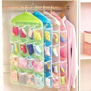 Candy Colored Hanging Organizer