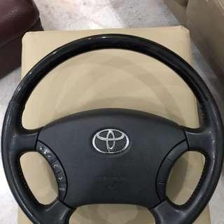 Toyota steering Alphard