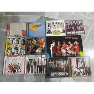 CLEARANCE!! Super Junior official albums/DVD