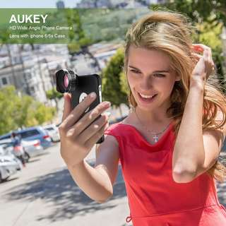 $38 Aukey Professional HD  Wide Angle- Phone Camera Lens
