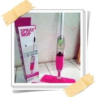 Spray Mop alat pel lantai semprot dan tersedia refill kain supreme