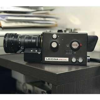 Leicina Special Super 8mm Camera + Optivaron 6-66mm Lens