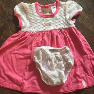 Baby Kiko pink dress