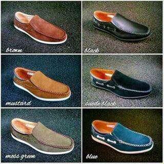 Genuine Leather Marikina Made Casual Men's Shoes