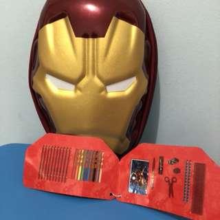 Iron Man Mask Colouring Stationery Set